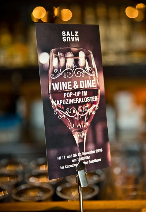 Flyer Wine&Dine